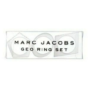 NIB marc jacobs geo ring set